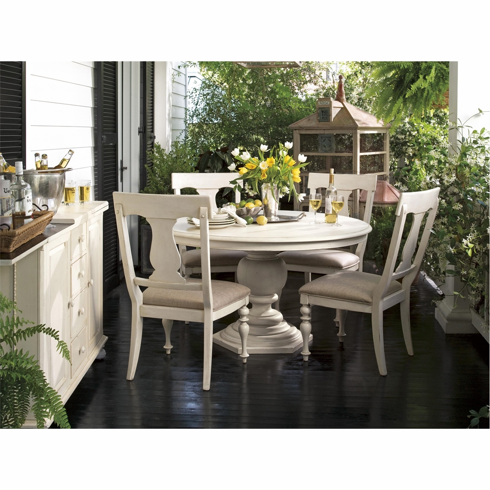 Paula Deen Home Round Pedestal Table Complete 996655