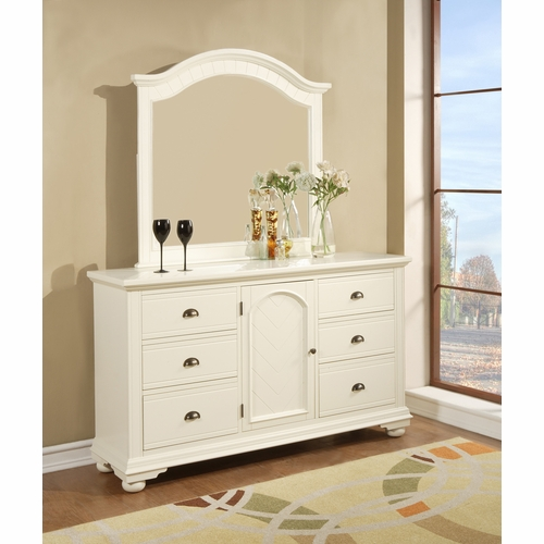 Picket House Furnishings - Addison Dresser And Mirror  - BP700DRMR