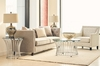 Picket House Furnishings - Astoria 3Pc Occasional Table Set Coffee Table And Two End Tables in Chrome - CEM1003PC