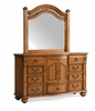 Picket House Furnishings - Barrow Dresser & Mirror Combo - BQ600DRMR