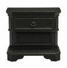 Picket House Furnishings - Bradshaw 1 Drawer Nightstand With Usb in Espresso - HC600NS