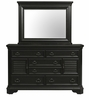 Picket House Furnishings - Bradshaw Dresser And Mirror Set in Espresso - HC600DRMR