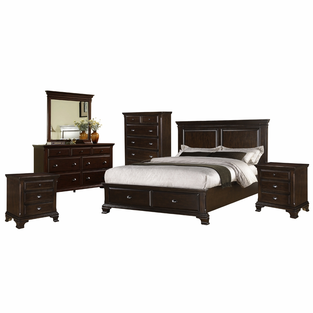 Picket House Furnishings - Brinley 6 Piece Queen Bedroom Set ...