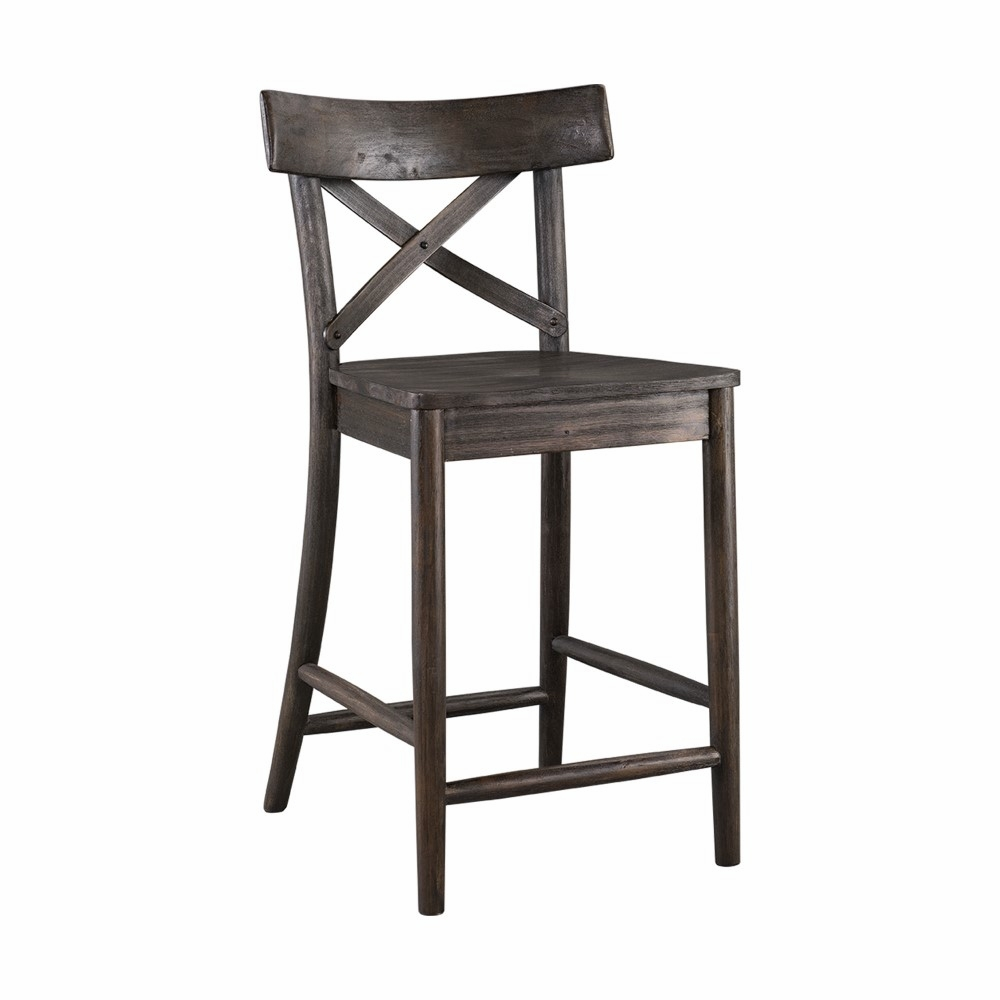 Awesome Picket House Furnishings Calhoun 24 Counter Height Stool Lco100Cst Caraccident5 Cool Chair Designs And Ideas Caraccident5Info