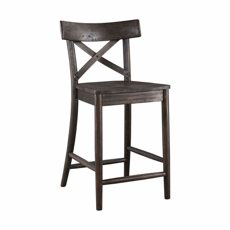 """Picket House Furnishings - Calhoun 24"""" Counter Height Stool - LCO100CST"""