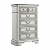Picket House Furnishings - Caroline 6 Drawer Chest in Antique White - LH700CH