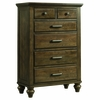 Picket House Furnishings - Channing 6 Drawer Chest in Dark Walnut - CH600CH