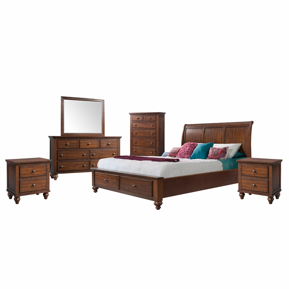 Picket House Furnishings - Channing 6 Piece King Bedroom Set - CH777KB6PC