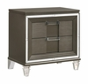 Picket House Furnishings - Charlotte 2 Drawer Nightstand With Usb in Copper - TN600NS