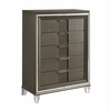 Picket House Furnishings - Charlotte 5 Drawer Flip Top Chest in Copper - TN600CH