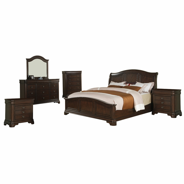 Picket House Furnishings Conley 6 Piece King Bedroom Set Cm750kb6pc