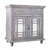 Picket House Furnishings Devon 2 Door Accent Chest In Silver - MASG06CNE