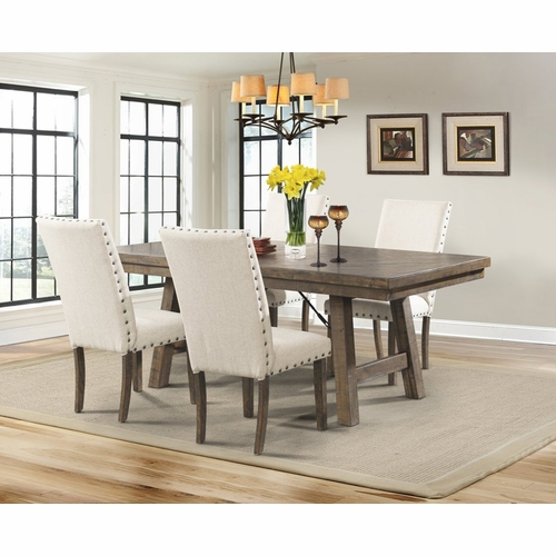Picket House Furnishings - Dex Dining Table, 4 Side Chairs - DJX100S5PC