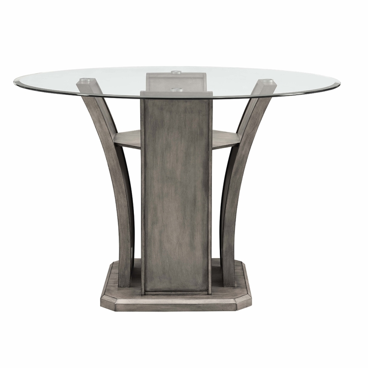 Picket House Furnishings Dylan Round Counter Dining Table Dds100cdt 42 Jpg