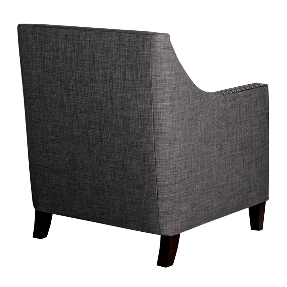 Heirloom Charcoal Accent Chair Rocket: Emery Chair Heirloom Charcoal