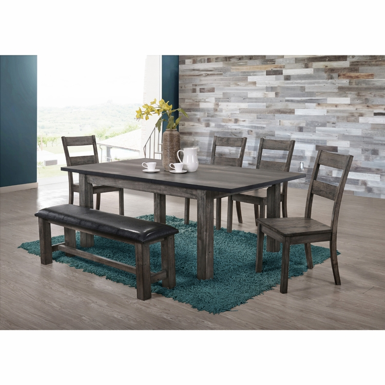 Picket House Furnishings - Grayson Dining 6PC Set - DNH100CW6PC