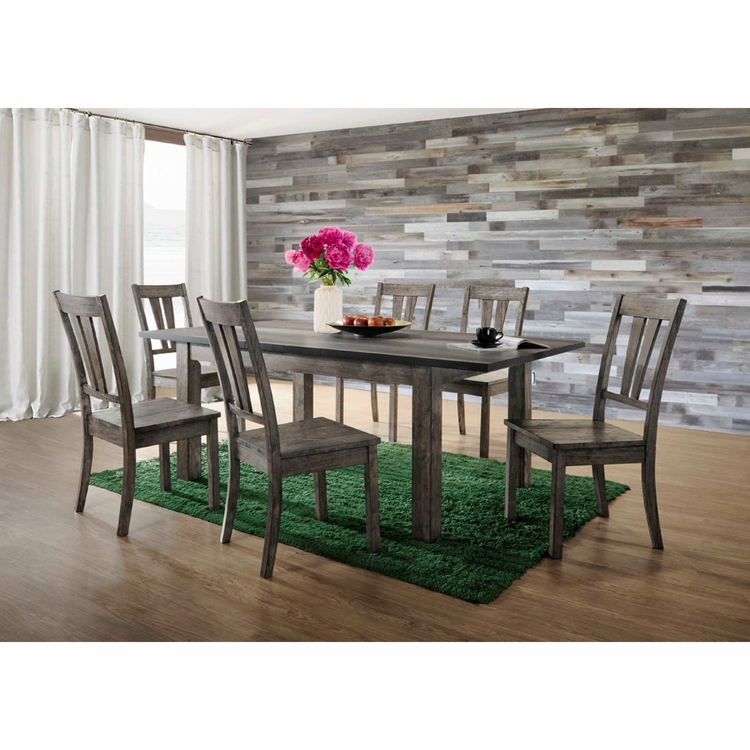 Picket House Furnishings - Grayson Dining 7PC Set - DNH100CW7PC