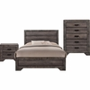 Picket House Furnishings - Grayson King Panel 3PC Bedroom Set  - NH100KB3PC