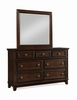 Picket House Furnishings - Harland Dresser & Mirror - HR100DRMR