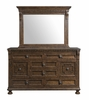 Picket House Furnishings - Henry Dresser & Mirror Set - HX600DRMR