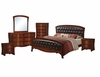 Picket House Furnishings - Jansen 6 Piece Queen Bedroom Set - JN100QB6PC