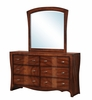 Picket House Furnishings - Jansen Dresser & Mirror Combo - JN100DRMR