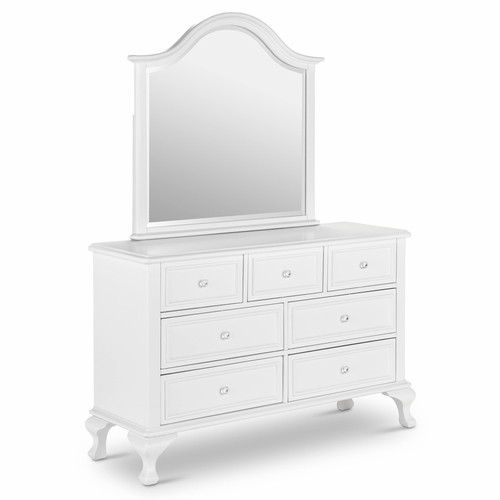Picket House Furnishings - Jenna Dresser & Mirror Combo - JS700DRMR