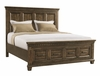 Picket House Furnishings - Johnny 2 Drawer Queen Storage Bed in Smokey Walnut - MB600QB