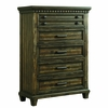 Picket House Furnishings - Johnny 5 Drawer Chest in Smokey Walnut - MB600CH