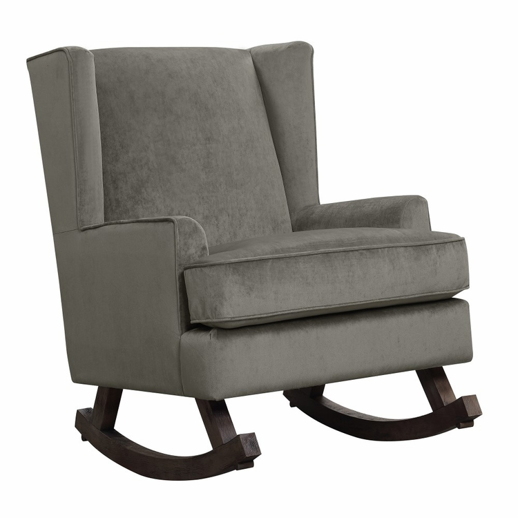 Picket House Furnishings - Lily Glider Chair in Granite - USS043101G