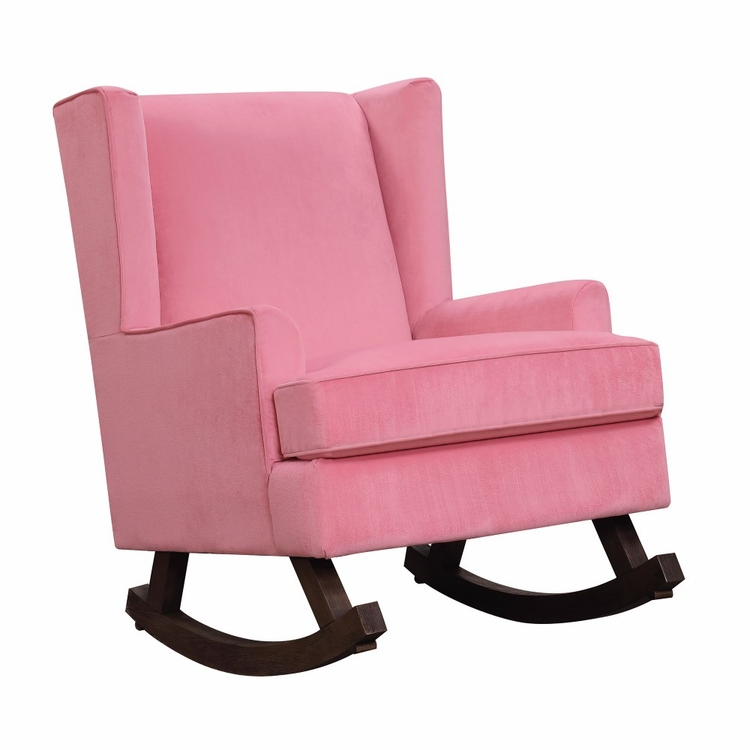 Picket House Furnishings - Lily Glider Chair in Pink - USS052101G