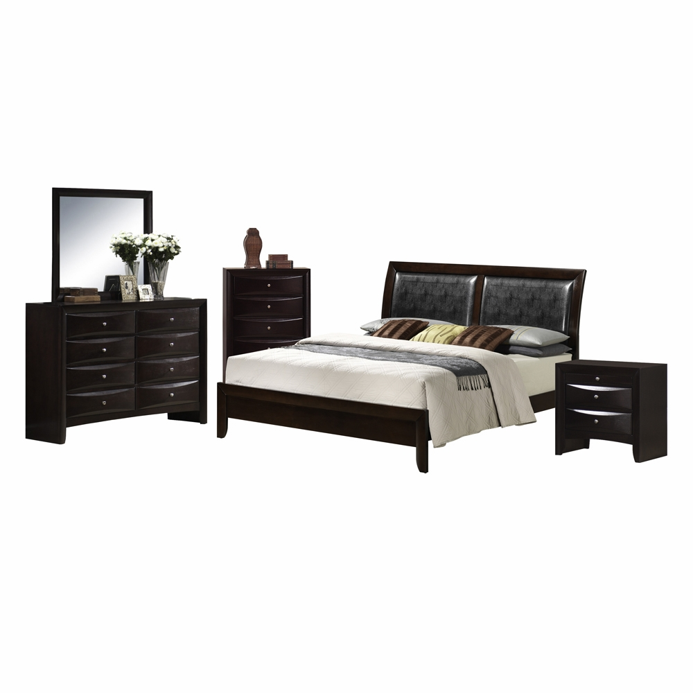 Picket House Furnishings - Madison 5 Piece Queen Bedroom Set - EM200QB5PC