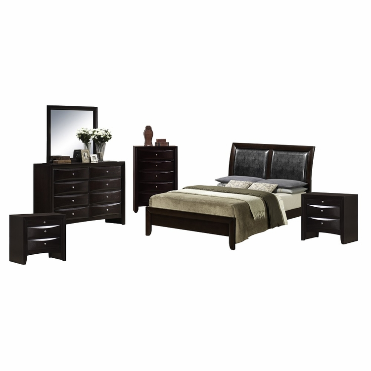 Picket House Furnishings - Madison 6 Piece Queen Bedroom Set - EM200QB6PC