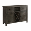 Picket House Furnishings - Montego Server in Dark Walnut - DSB100SV
