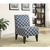 Picket House Furnishings Teagan Accent Chair In Navy