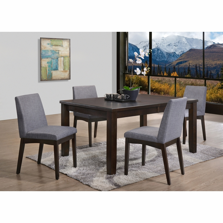 Picket House Furnishings - Pyke 5PC Dining Set- Table & 4 Side Chairs - DPP100S5PC