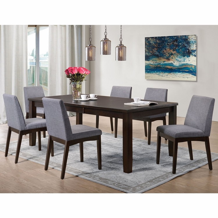 Picket House Furnishings - Pyke 7PC Dining Set-Table & 6 Side Chairs - DPP100S7PC