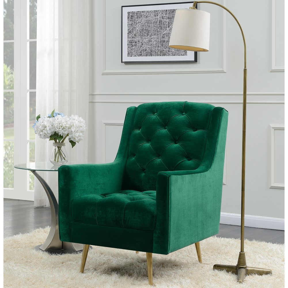 Picket House Furnishings Reese Button Tufted Accent