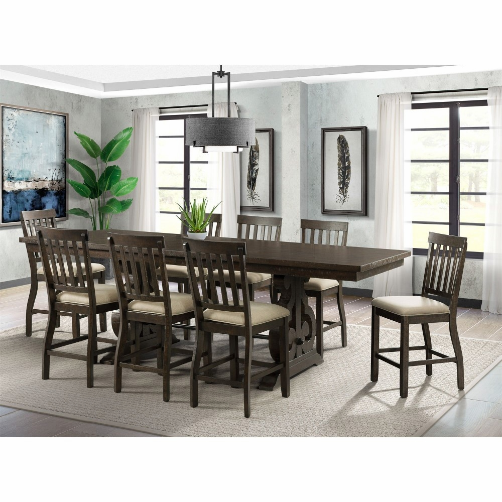 Picket House Furnishings - Stanford Counter Height 9PC ...