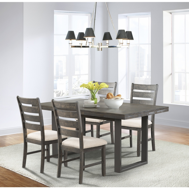 Picket House Furnishings - Sullivan Dining Table, 4 Side Chairs - DSW100SC4PC
