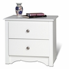 Prepac - Monterey White 2 - Drawer Night Stand - WDC-2422