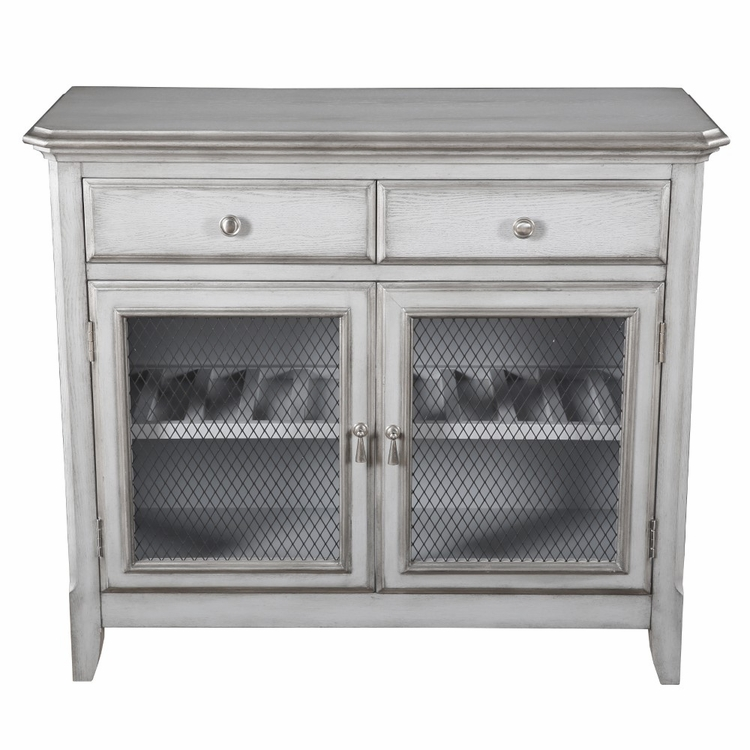 Pulaski - Farmhouse Style Two Drawer and Two Door Accent Cabinet - DS-D153-070
