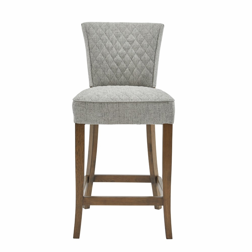 Fine Pulaski Quilted Linen Counter Stool Ds D192 500A 502 Gmtry Best Dining Table And Chair Ideas Images Gmtryco