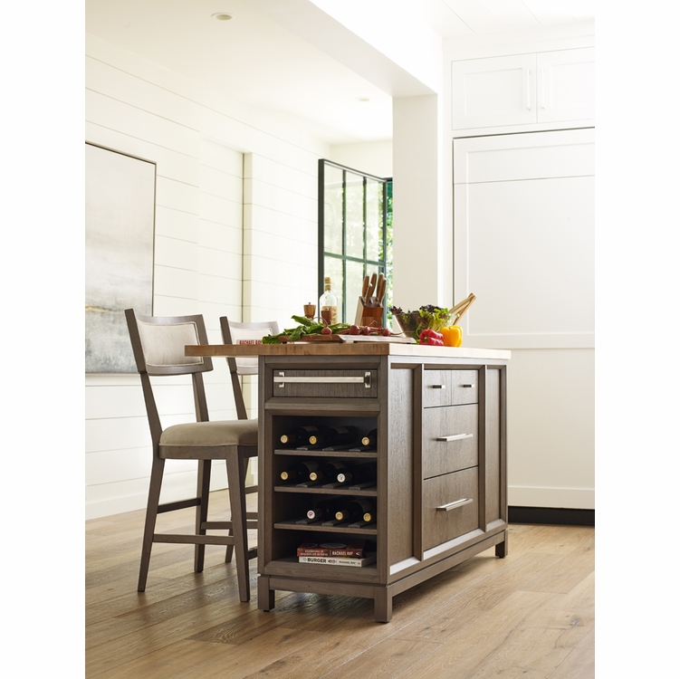 Rachael Ray - Highline Complete Kitchen Island - 6000-190K