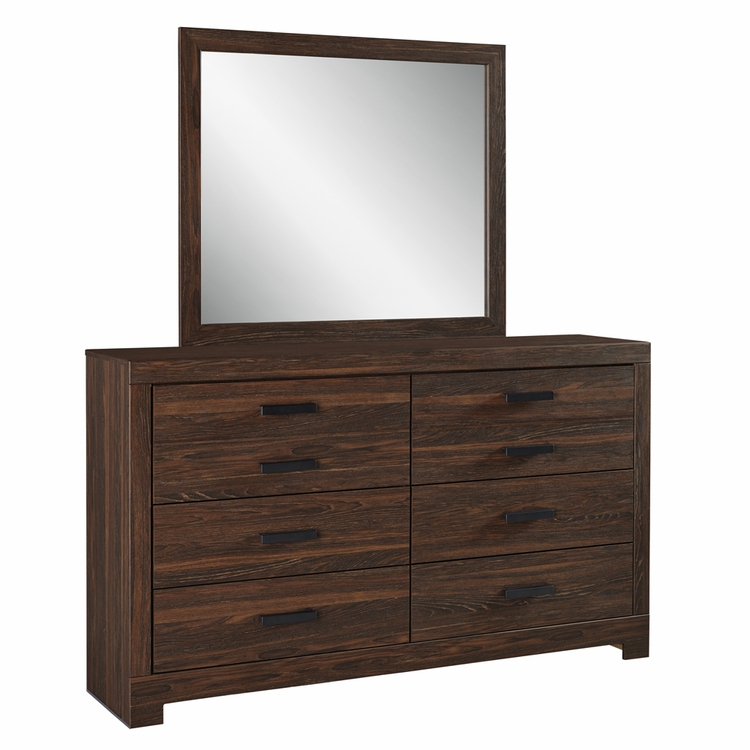 Signature Design by Ashley - Arkaline Dresser and Mirror - B071-31_36