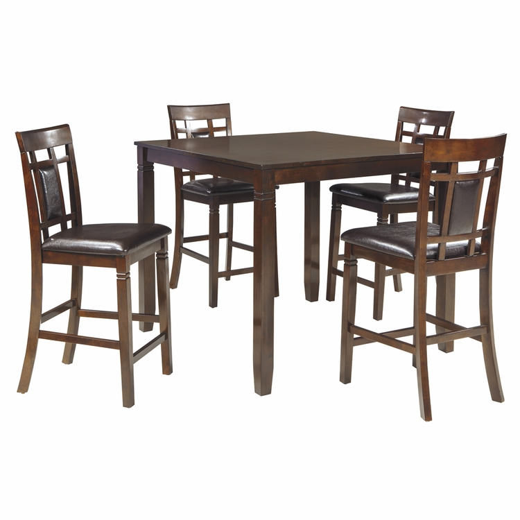 Signature Design by Ashley - Bennox Dining Room Counter Table Set (5/CN) - D384-223