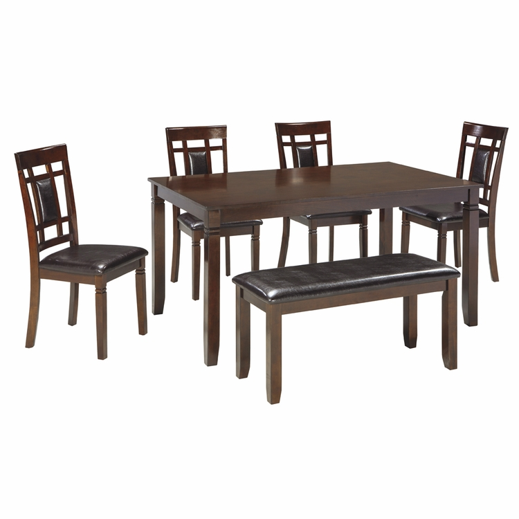 Signature Design by Ashley - Bennox Dining Room Counter Table Set (5/CN) - D384-325