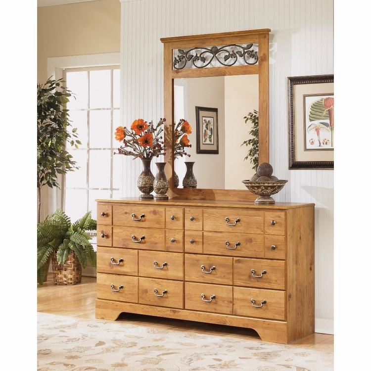 Signature Design by Ashley - Bittersweet Bedroom Dresser and Mirror - B219-31_36