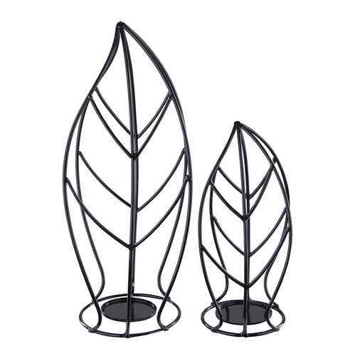 Signature Design by Ashley - Cadelaria - Black Candle Holder (Set of 2) - A2000155C - Quickship