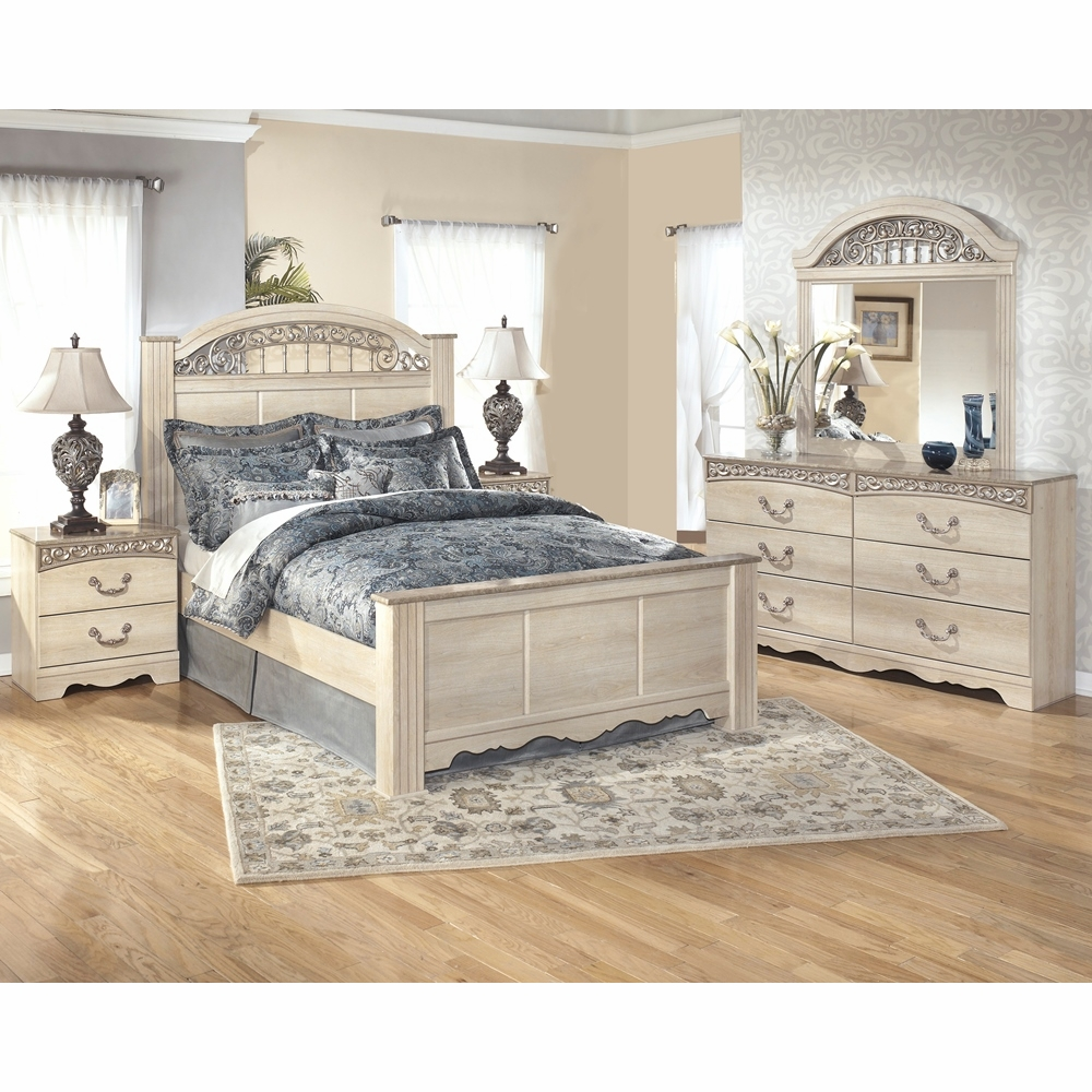 Signature Design By Ashley Catalina 4 Piece Queen Bedroom Set